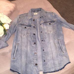 Gap jean shirt/jacket size small